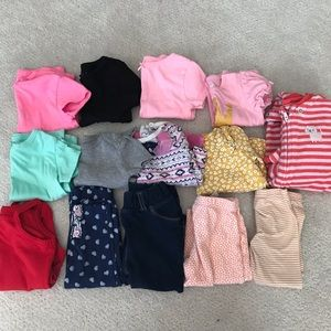 Lot of girls 9 months clothes